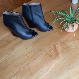 Zara wedge heels sz 8
